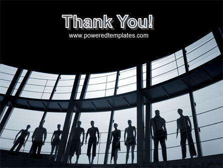 Standing Manikins Free PowerPoint Template Slide 20