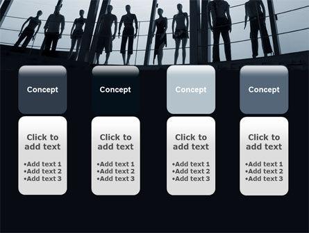 Standing Manikins Free PowerPoint Template Slide 5