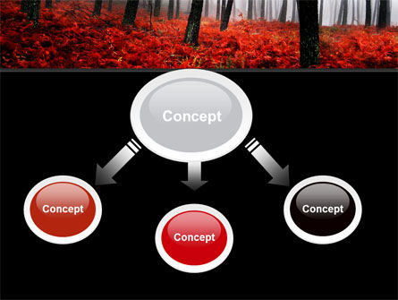 Red Fall PowerPoint Template, Slide 4, 06615, Nature & Environment — PoweredTemplate.com