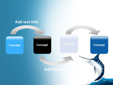 Swordfish PowerPoint Template, Slide 4, 06617, Nature & Environment — PoweredTemplate.com