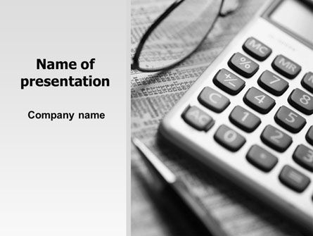 Investment Adviser PowerPoint Template