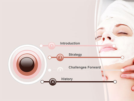 Face Pack PowerPoint Template, Slide 3, 06620, Medical — PoweredTemplate.com
