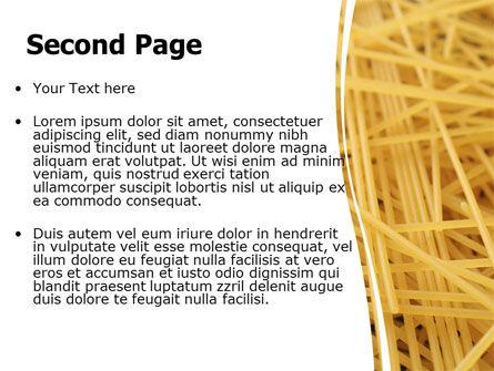 Italian Pasta PowerPoint Template Slide 2