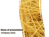 Food & Beverage: Italian Pasta PowerPoint Template #06624