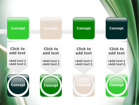 Green with Beige PowerPoint Template Slide 18