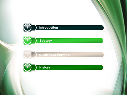 Green with Beige PowerPoint Template, Slide 3, 06625, Abstract/Textures — PoweredTemplate.com
