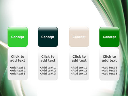 Green with Beige PowerPoint Template Slide 5