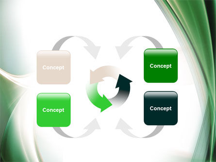 Green with Beige PowerPoint Template Slide 6