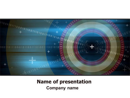 Technology and Science: Targeting PowerPoint Template #06626
