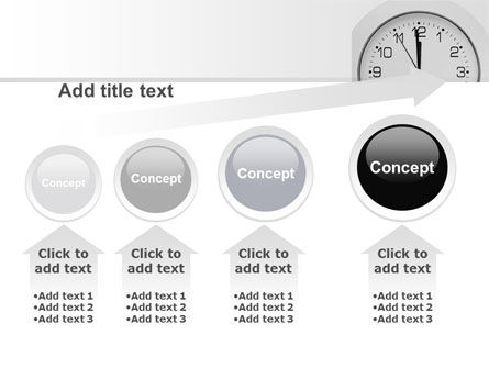 Seconds Before Noon Free PowerPoint Template Slide 13