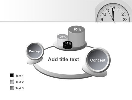 Seconds Before Noon Free PowerPoint Template Slide 16