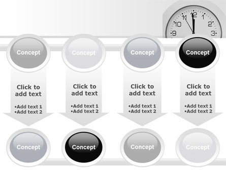 Seconds Before Noon Free PowerPoint Template Slide 18