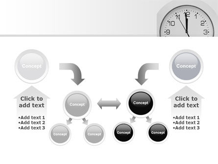 Seconds Before Noon Free PowerPoint Template Slide 19
