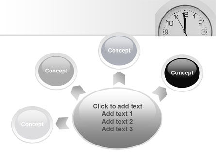 Seconds Before Noon Free PowerPoint Template Slide 7