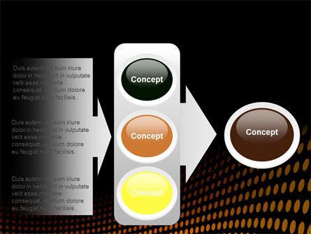 Yellow Lattice PowerPoint Template Slide 11