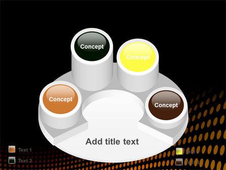 Yellow Lattice PowerPoint Template Slide 12