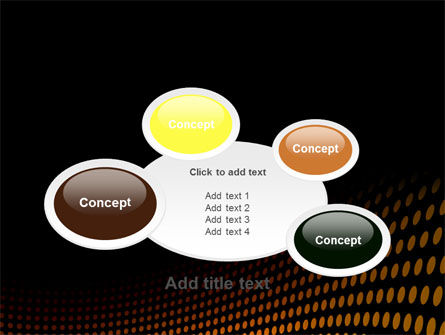 Yellow Lattice PowerPoint Template Slide 16