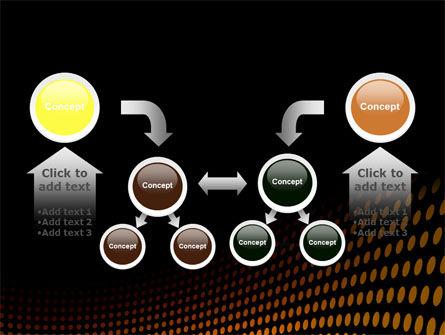 Yellow Lattice PowerPoint Template Slide 19