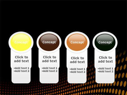Yellow Lattice PowerPoint Template Slide 5