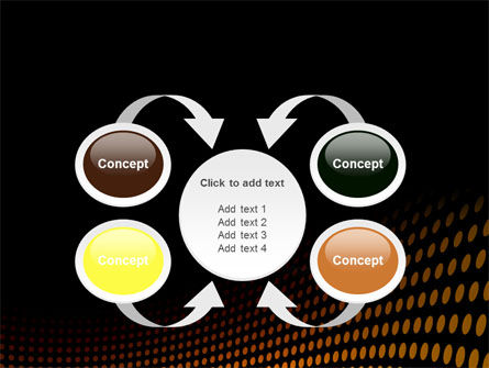 Yellow Lattice PowerPoint Template Slide 6