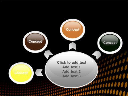 Yellow Lattice PowerPoint Template Slide 7