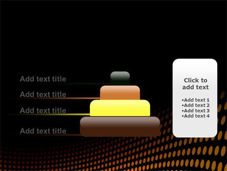 Yellow Lattice PowerPoint Template Slide 8