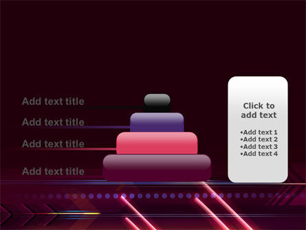 Neon Orange Arrow PowerPoint Template Slide 8