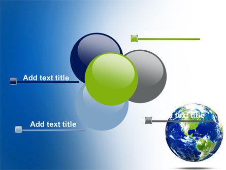 World Globe PowerPoint Template Slide 10