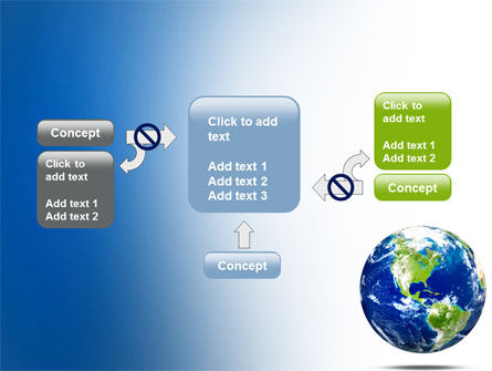 World Globe PowerPoint Template Slide 13