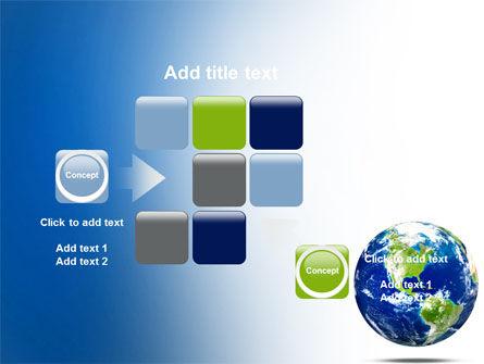 World Globe PowerPoint Template Slide 16