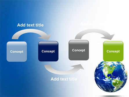 World Globe PowerPoint Template, Slide 4, 06636, Global — PoweredTemplate.com