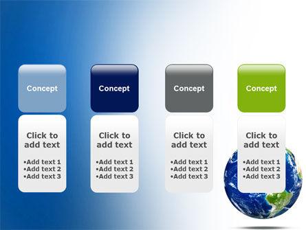 World Globe PowerPoint Template Slide 5