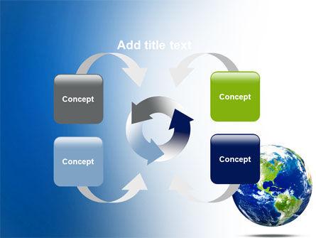 World Globe PowerPoint Template Slide 6