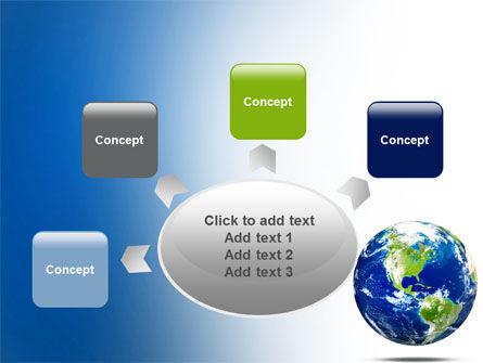 World Globe PowerPoint Template Slide 7