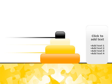 Yellow Jigsaw Theme PowerPoint Template Slide 8
