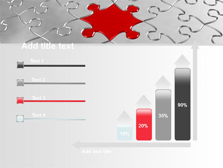 Puzzle Main Piece PowerPoint Template Slide 8