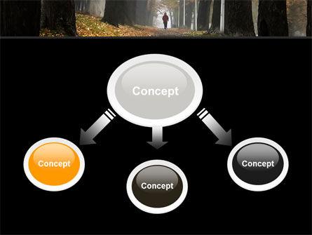 Autumn Jogging PowerPoint Template, Slide 4, 06642, Nature & Environment — PoweredTemplate.com