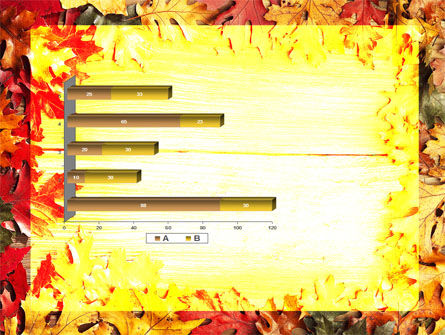 Autumn Leaves Frame PowerPoint Template Slide 11