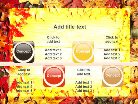 Autumn Leaves Frame PowerPoint Template Slide 18