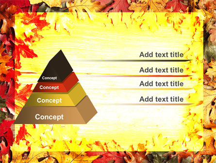 Autumn Leaves Frame PowerPoint Template Slide 4