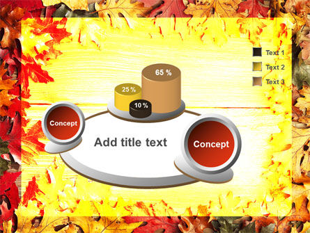 Autumn Leaves Frame PowerPoint Template Slide 6