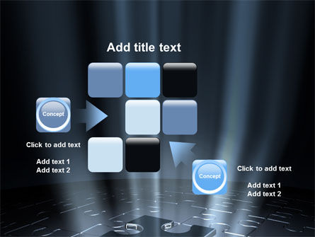 Puzzle Piece In A Puzzle PowerPoint Template Slide 16