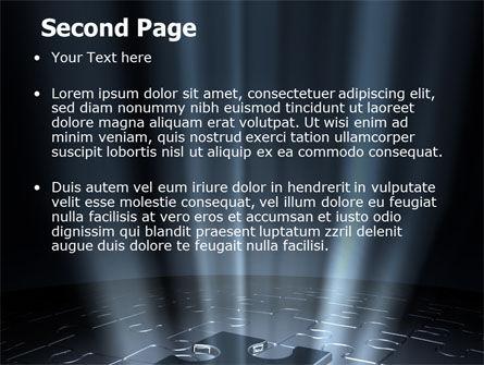 Puzzle Piece In A Puzzle PowerPoint Template, Slide 2, 06648, Business Concepts — PoweredTemplate.com