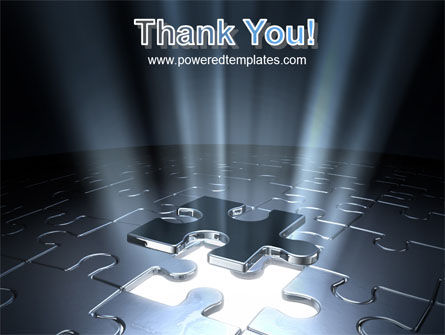 Puzzle Piece In A Puzzle PowerPoint Template Slide 20