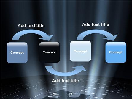 Puzzle Piece In A Puzzle PowerPoint Template, Slide 4, 06648, Business Concepts — PoweredTemplate.com
