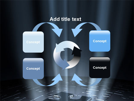 Puzzle Piece In A Puzzle PowerPoint Template Slide 6