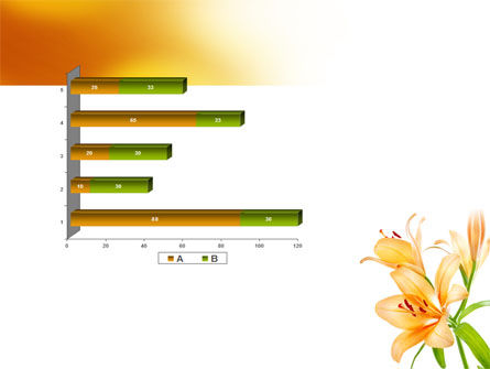 Yellow Lily PowerPoint Template Slide 11