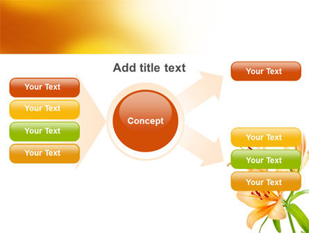 Yellow Lily PowerPoint Template Slide 15