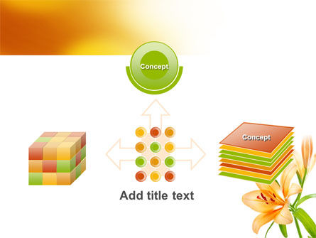 Yellow Lily PowerPoint Template Slide 19