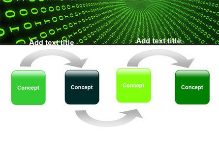 Digital Hole PowerPoint Template, Slide 4, 06650, Technology and Science — PoweredTemplate.com